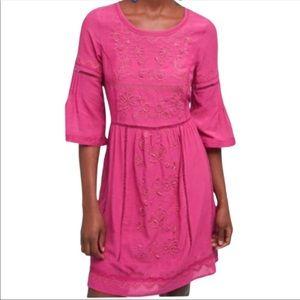 Anthropologie Akemi+Kin Tunic Laced Dress XS NWOT